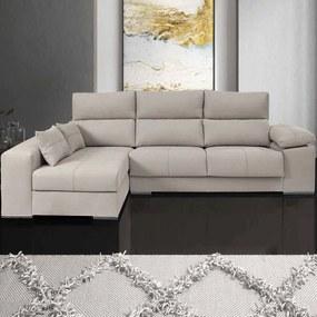 Sofá com Assentos Deslizantes | Roma - 3 Assentos » L 240 cm