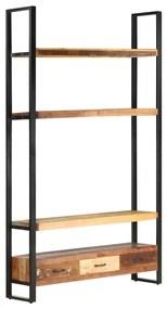 321054 vidaXL Armário alto 118x30x200 cm madeira recuperada maciça