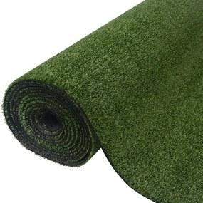 42683 vidaXL Relva artificial 1,5x5 m/7-9 mm verde