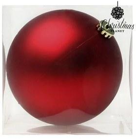Bola de Natal 8828 15 cm Cristal Vermelho