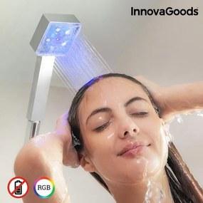Eco-chuveiro LED com Sensor de Temperatura Square InnovaGoods