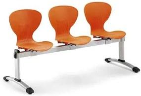 Cadeiras Receção 5 Lugares Fixa Viga 160 (cadeiras de Escritório)