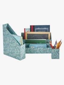 Conjunto de arrumação especial escritório, Flor verde medio bicolor/multicolor