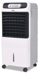 50550 vidaXL Climatizador de ar portátil 80 W 12 L 496 m³/h