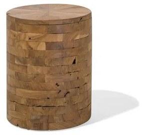 Mesa de apoio em madeira de teca BRANT