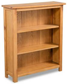 244468 vidaXL Estante com 3 prateleiras 70x22,5x82 cm madeira carvalho maciça