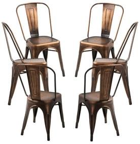 Pack 6 Cadeiras Torix Vintage