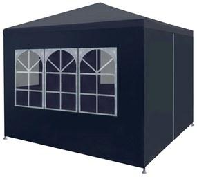45097 vidaXL Tenda para festas 3x3 m azul