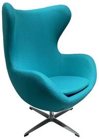 Poltrona Delft Cor: Azul Turquesa