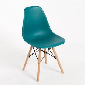 Cadeira Oslo Cor: Verde - Azulado