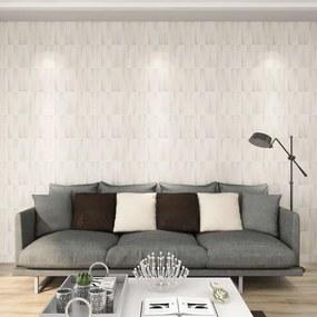 146308 vidaXL Painéis de parede 3D 24 pcs 0,5x0,5 m 6m²