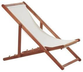 Cadeira de jardim dobrável em madeira de acácia escura ANZIO
