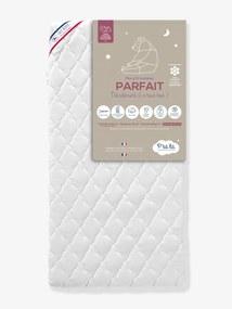 Mon p'tit colchão Parfait com capa amovível, 60x120 cm da P'TIT LIT branco claro liso