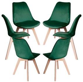 Pack 6 Cadeiras Synk Veludo