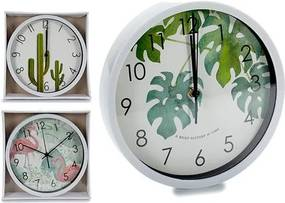 Relógio de Parede Branco 3 (25 x 3,9 x 25 cm)