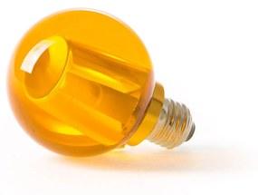 Crystaled Round - Amber