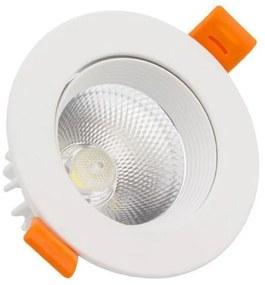 Projetor Encastrado LED Ledkia A+ 9 W 720 Lm (Branco Quente 3000K)