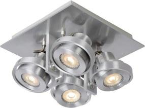 Lucide 17906/20/12 - Foco LED LANDA 4xGU10/4,5W/230V cromo