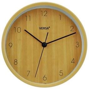 Relógio-Despertador Amarelo Plástico (4,5 x 16,2 cm)
