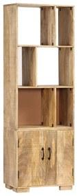 247481 vidaXL Estante 60x35x180 cm madeira de mangueira maciça