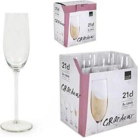 Copo de champanhe Royal Leerdam Grandeur Cristal (21 cl)