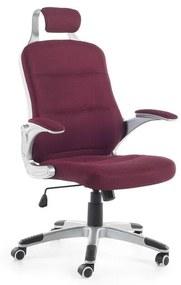 Cadeira de escritório ajustável vermelho PREMIER