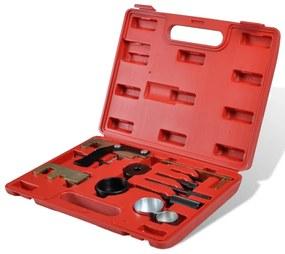210148 vidaXL Kit ferramenta bloqueio de sincronização eixo comando Opel Renault etc