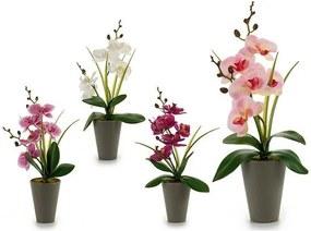 Planta Decorativa Orquídea 37 cm Plástico