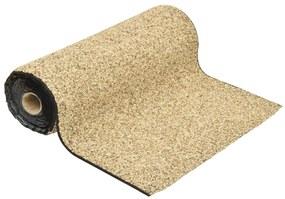 149524 vidaXL Revestimento de pedra 1000x60 cm cor areia natural