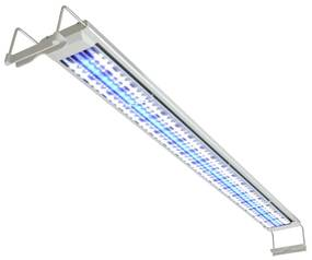 42466 vidaXL Iluminação de aquário LED 120-130 cm alumínio IP67