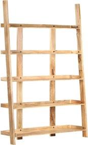 Estante com 5 prateleiras 120x37x180 cm mangueira maciça