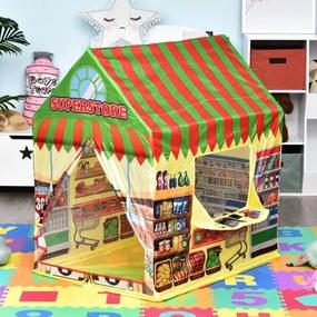 Supermercado para as crianças brincarem Zona Infantil Fácil de Montar Presente para Crianças 93x69x103cm 0,75 kg