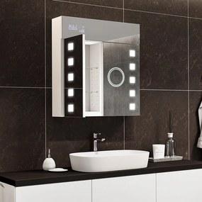 Armário com espelho e com iluminação LED L03