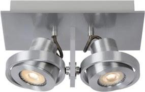 Lucide 17906/10/12 - Foco LED LANDA 2xGU10/4,5W/230V cromo