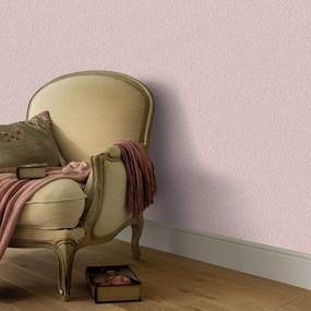 4 pcs rolos papel de parede 0,53x10m rosa cintilante liso