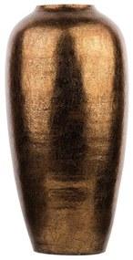 Vaso decorativo dourado brilhante LORCA