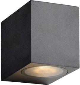 Lucide 22860/05/30 - Luz de parede LED de exterior ZORA-LED 1xGU10/5W/230V IP44