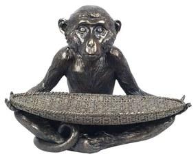 Estatuetas Signes Grimalt  Figura De Bandeja De Macaco