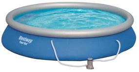 91644 Bestway Conjunto de piscina Fast Set 457x84 cm 57313