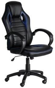Cadeira Bolt Cor: Azul e Preto