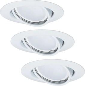Paulmann - TIP 3975 - CONJUNTO 3xLED/6,5W Iluminação embutida com regulação 230V