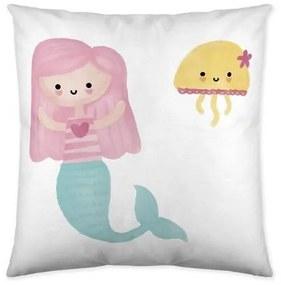 Capa de travesseiro Cool Kids Mermaid (50 x 50 cm)