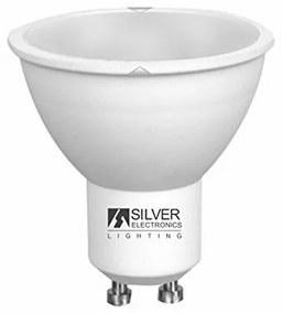 Lâmpada dicróica Silver Electronics ECO GU10 4W Luz quente
