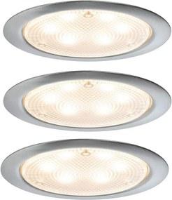 Paulmann 93559 - CONJUNTO 3xLED/2,8W Iluminação embutida MICRO LINE 230V