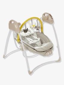 Baloiço com arco de jogos Babyswing VERTBAUDET cinza estampado