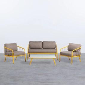 Conjunto Famo Cor: Amarelo Dourado