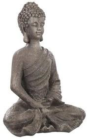 Estatueta de jardim cinza KATORI