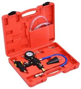 210554 vidaXL kit de purga/recarga a vácuo sistema de refrigeração universal