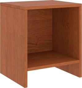 Mesa de cabeceira 35x30x40 cm pinho maciço castanho mel