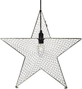 Markslöjd 703545 - Decoração de Natal BYNAS 1xE14/25W/230V 50 cm cinzento
